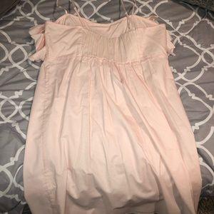 J Crew Factory Light Pink Dress